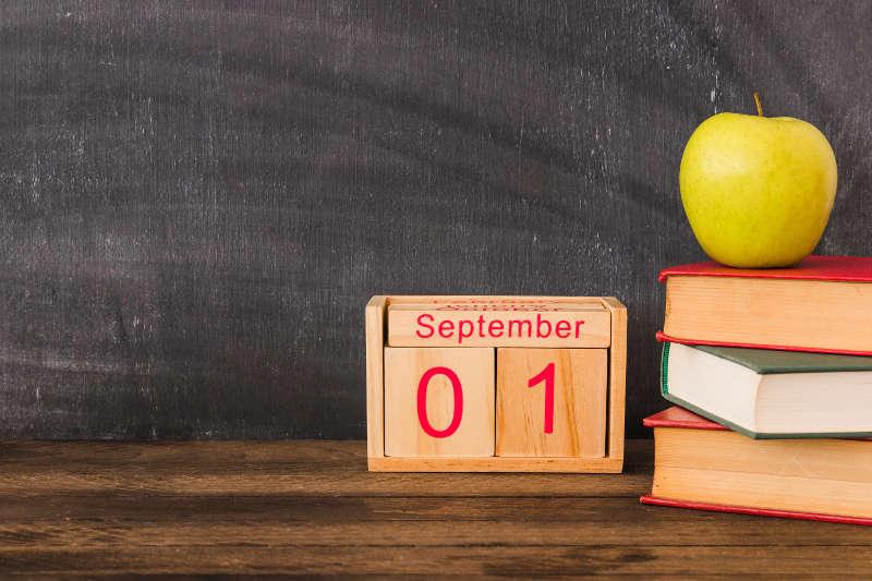 Lunile anului in engleza - Septembrie Septembrie