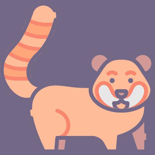 Red panda - Panda Rosu
